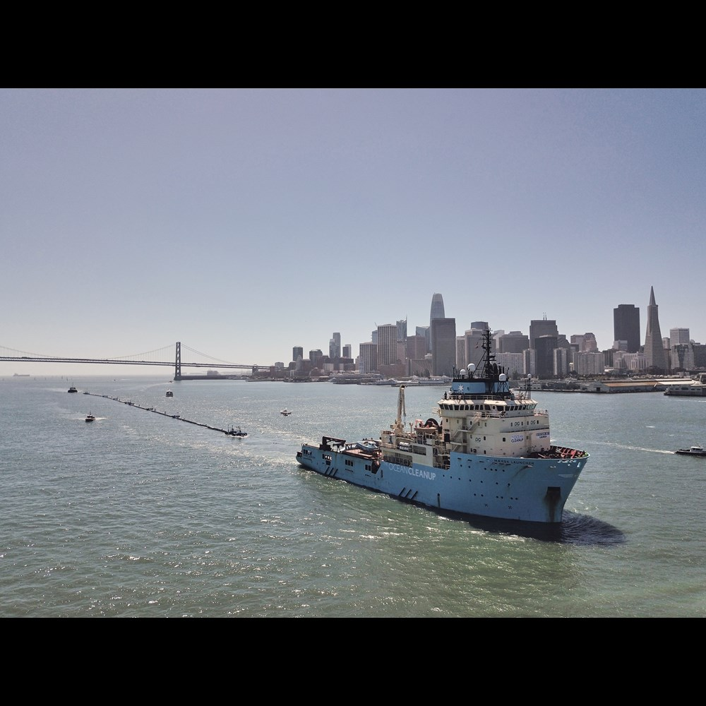 The Ocean Cleanup donations