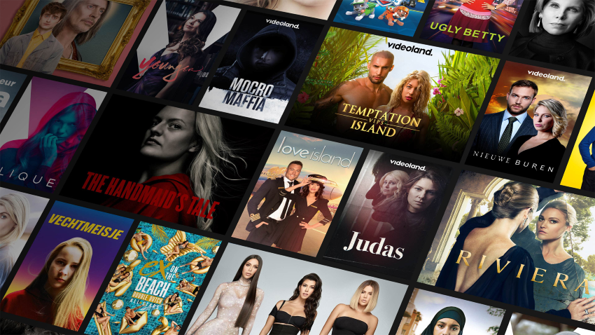 Videoland films and series on a subscription basis
