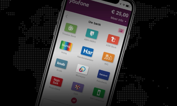 Youfone uses a flexible payment process